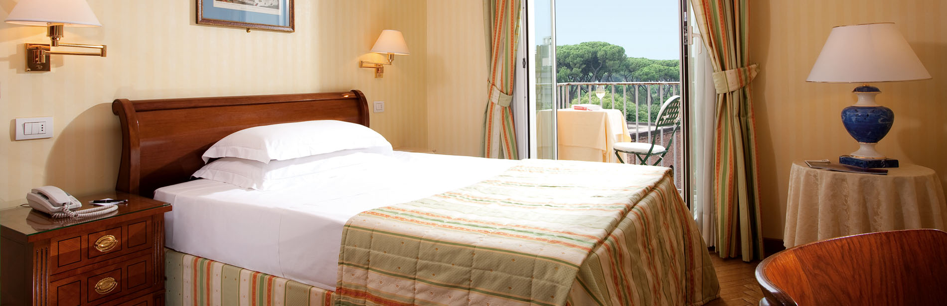 Single Classic Room - Hotel Victoria Roma